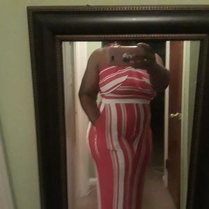 Stripped jumper